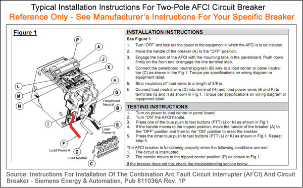 Shared Neutrals And Afci Breakers - Electrical