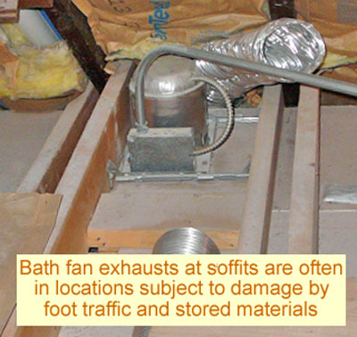 How To Vent Bathroom Fan preferred way to vent a bath fan - remodeling - diy chatroom home
