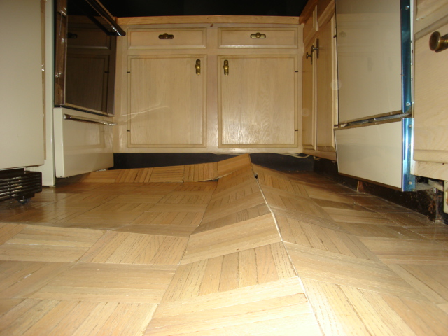 Unique Removal Of Underlayment Under Toe Space - Flooring - DIY Chatroom  HR13